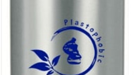 UPTOWN Borraccia in alluminio 500 ml, Tappo e grafica blu mare