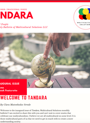 Tandara: The Monthly Bulletin (Inaugural Issue)