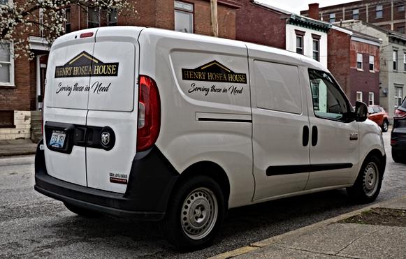 Hosea House Delivery Van