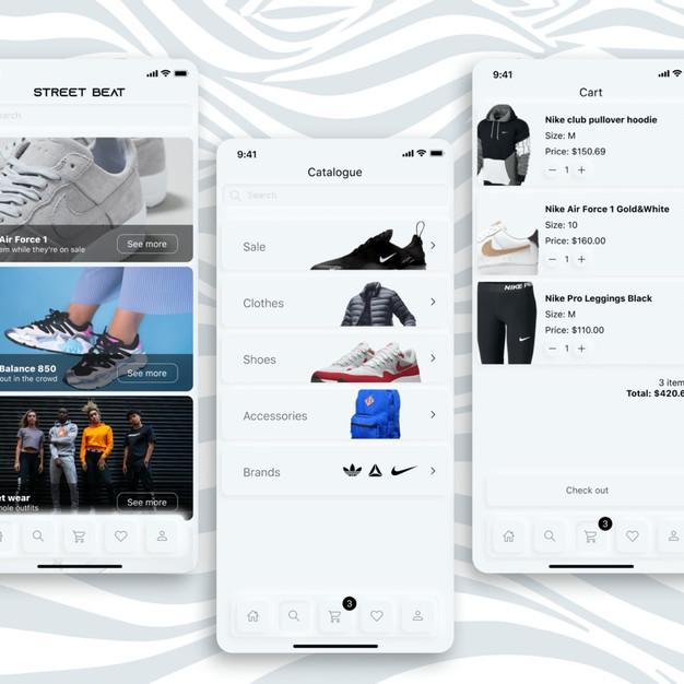 Street Beat app redesign