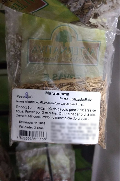 Marapuama - Erva Medicinal - Chás e Banhos - Alternativa