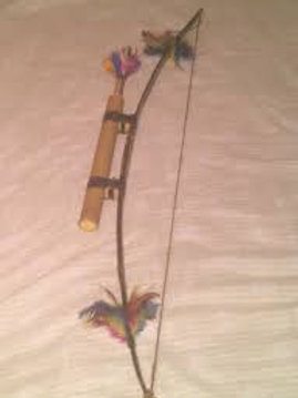 Arco e Flecha Indígena - 40 cm