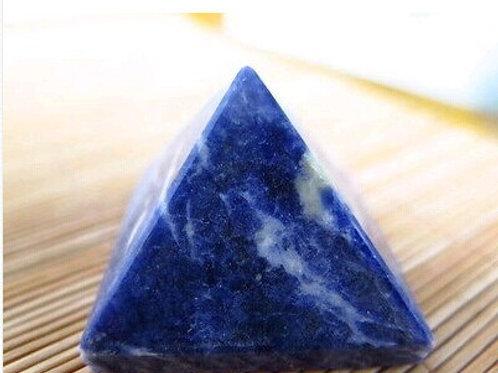 Pirâmide Sodalita Azul - Pequena