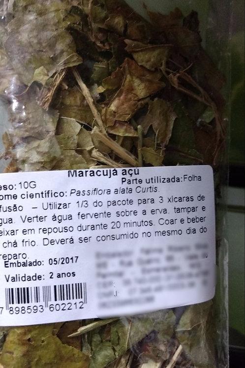 Maracujá Açu Passiflora - Erva Medicinal - Chás e Banhos - Alternativa