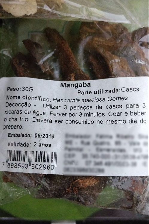 Mangaba (casca) - Erva Medicinal - Chás e Banhos - Alternativa