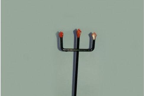 Garfo / Tridente de Exu em ferro - Diversos tamanhos