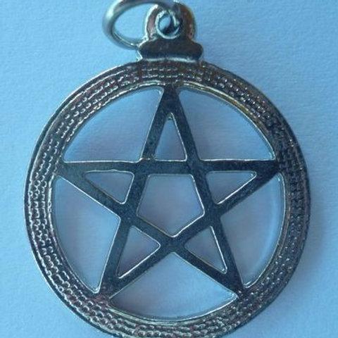 Pentagrama - Símbolo Salomão c/ Aro
