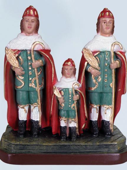 Cosme e Damião (manto vermelho) - 20 cm