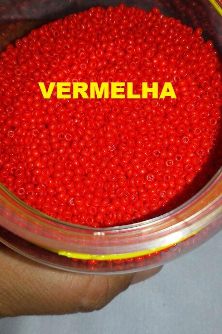 Miçanguinha 9/0 Porcelana 2,6 mm - Cores Jablonex
