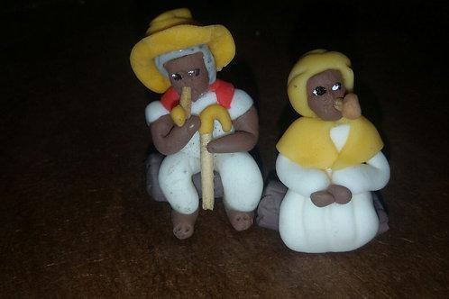 Orixas em Biscuit - Miniaturas - (Variados)