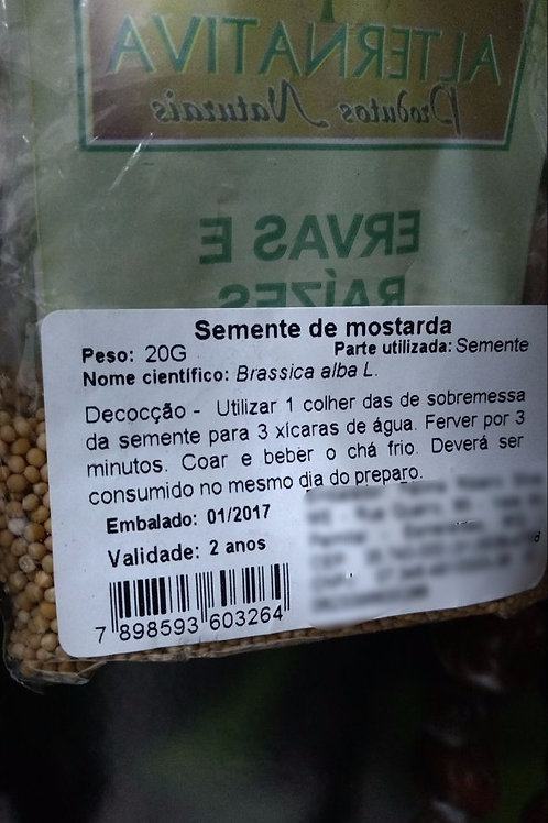 Mostarda (semente) - Erva Medicinal - Chás e Banhos - Alternativa