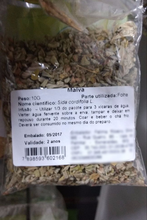 Malva - Erva Medicinal - Chás e Banhos - Alternativa