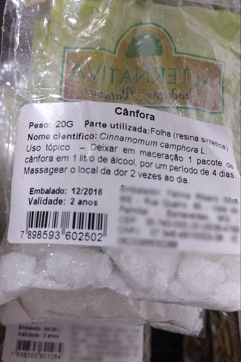 Cânfora (resina) - Erva Medicinal - Chás e Banhos - Alternativa