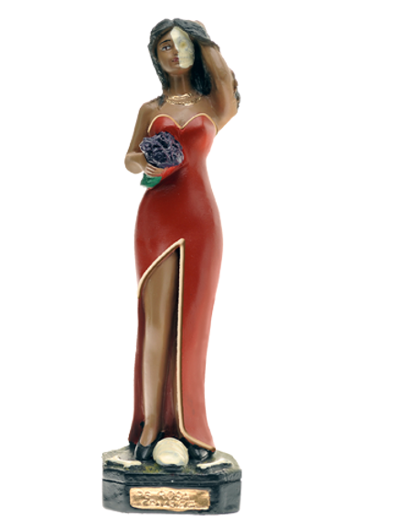 Pombogira Rosa Caveira - 20 cm