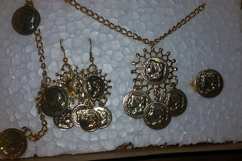 Conjunto Pombogira com Medalhas