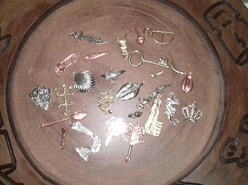 Miniaturas Variadas (Chave, Tesoura, Cadeado, etc...)