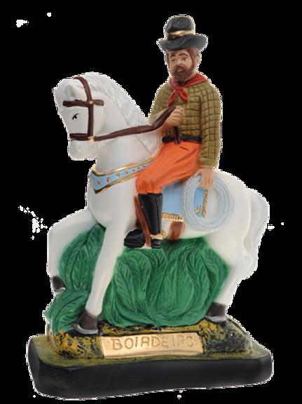 Pai Boiadeiro - à cavalo - 20 cm