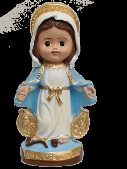 Nossa Senhora das Graças - Linha Infantil 15cm