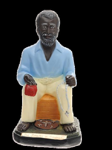 Preto Velho Pai Joaquim de Aruanda - 20 cm