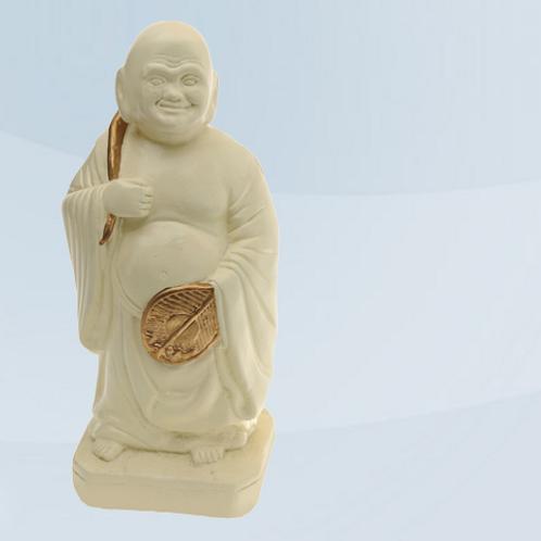 Buda da Fortuna Marfim- 10 cm