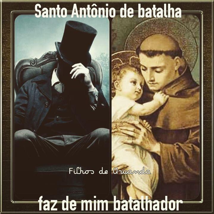 13 de Junho é dia de Santo Antônio! É dia de EXU!!
