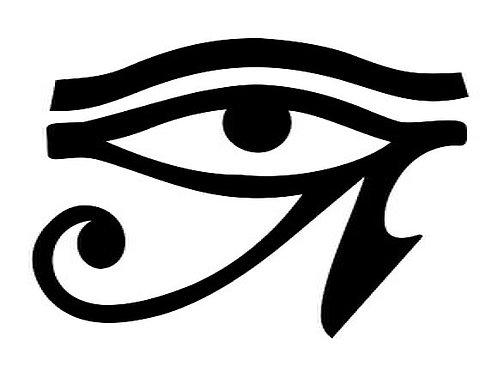 Adesivo Olho de Hórus (Vários Tamanhos)