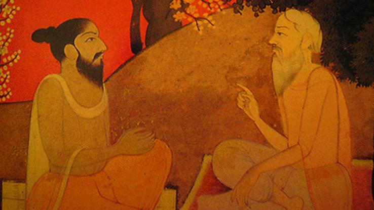 Diálogo entre Mestre e Discípulo