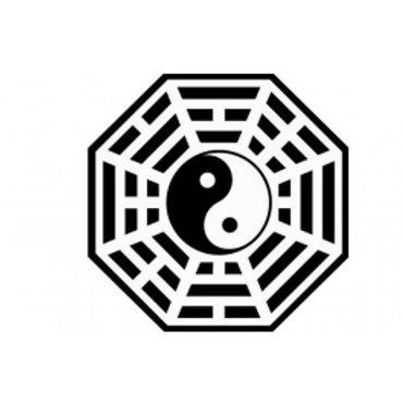 Adesivo Bagua Feng Shui (Vários Tamanhos)