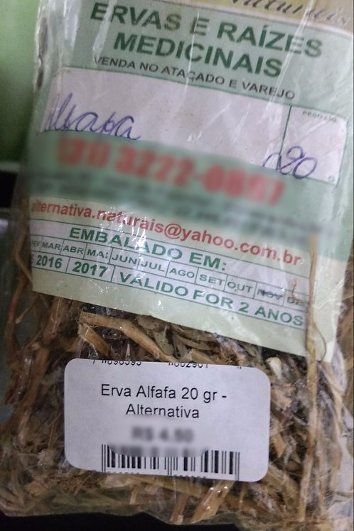 Alfafa - Erva Medicinal - Chás e Banhos - Alternativa