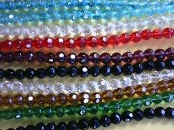 Guia Cristal 8mm - todas as cores