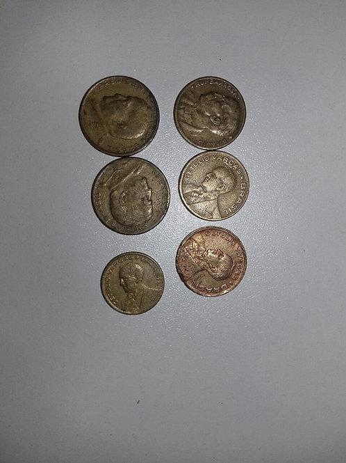 Moedas Antigas Pequenas (Cobre, Dourada, etc...)