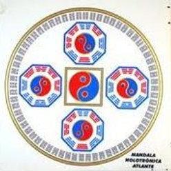Adesivo Mandala Holotrônica Atlante (Vários Tamanhos)