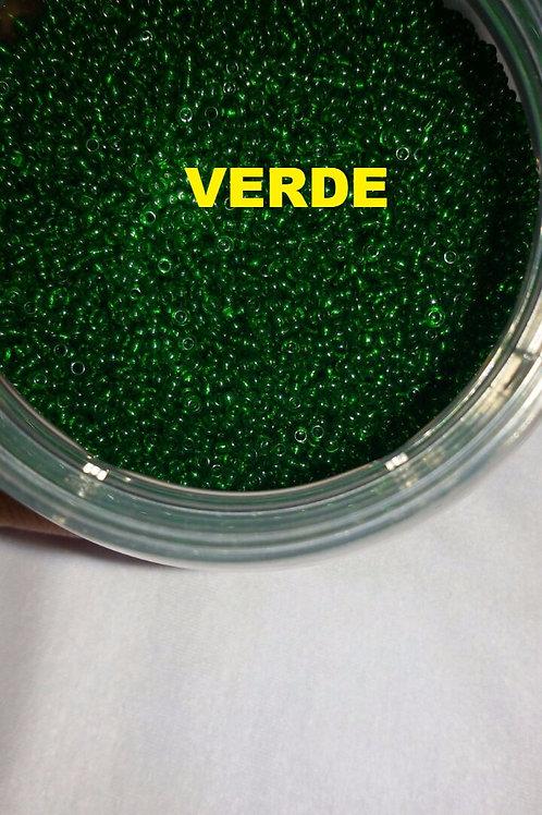 Miçanguinha 9/0 Cristal 2,6 mm - Cores Jablonex