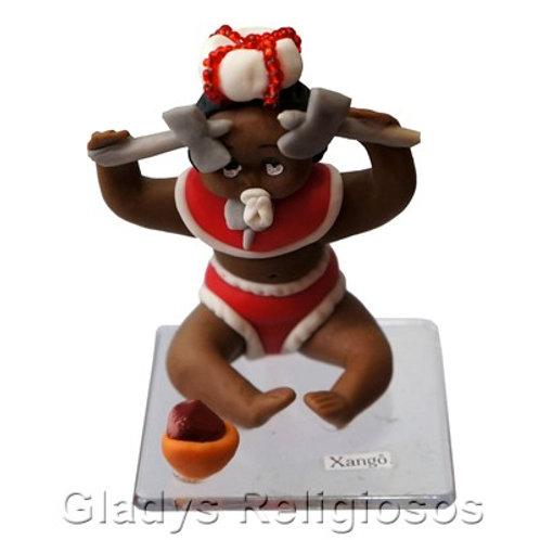 Orixá Baby em Biscuit - Miniaturas