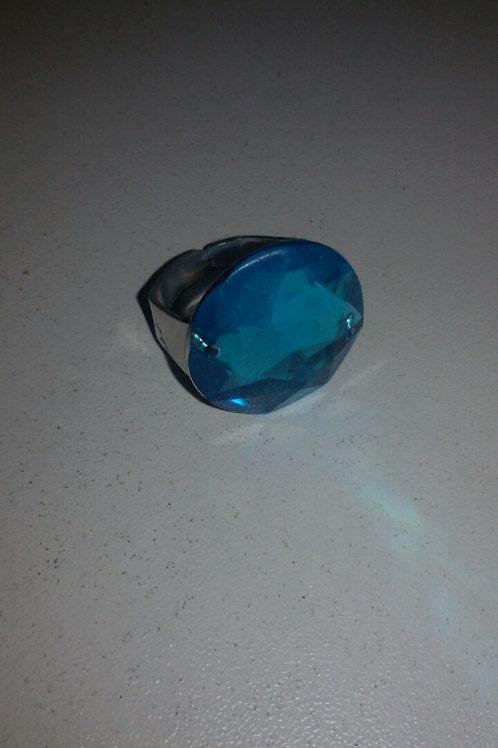 Anel de Iemanjá com Pedra Azul