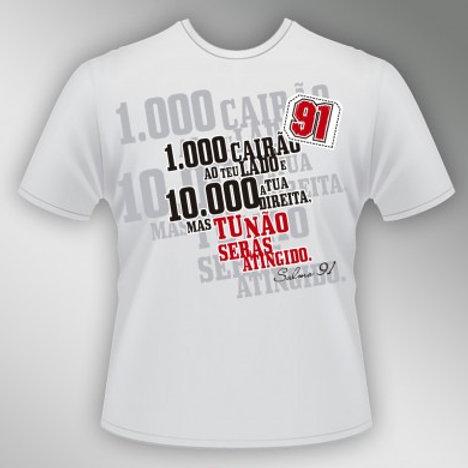 Camiseta Salmo 91 - Unissex
