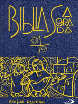 Bíblia Patoral Paulus - capa plástica