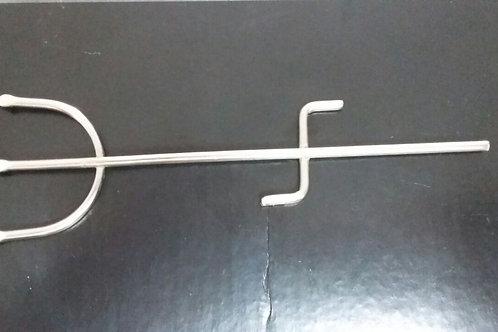 Garfo Exu / Pombogira Cromado 14 cm