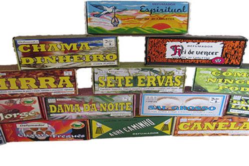Defumador em tablete - Limpeza, Magia, Ervas & etc