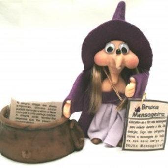 Bruxa das Mensagens C/ Caldeirao