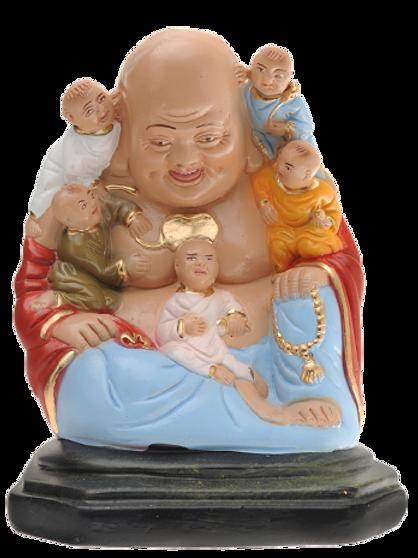 Buda família - 25cm