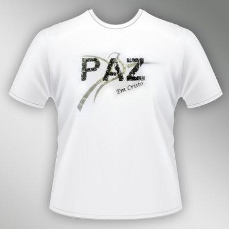 Camiseta Paz em Cristo - Unissex