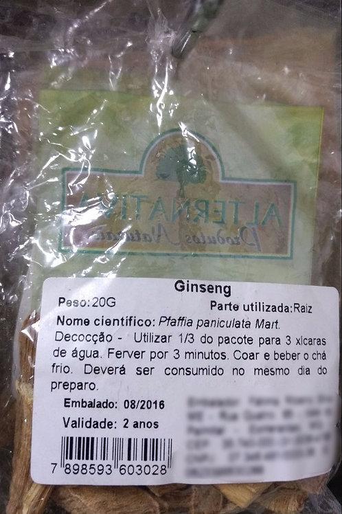 Ginseng Brasileiro (Fáfia)- Erva Medicinal - Chás e Banhos - Alternativa