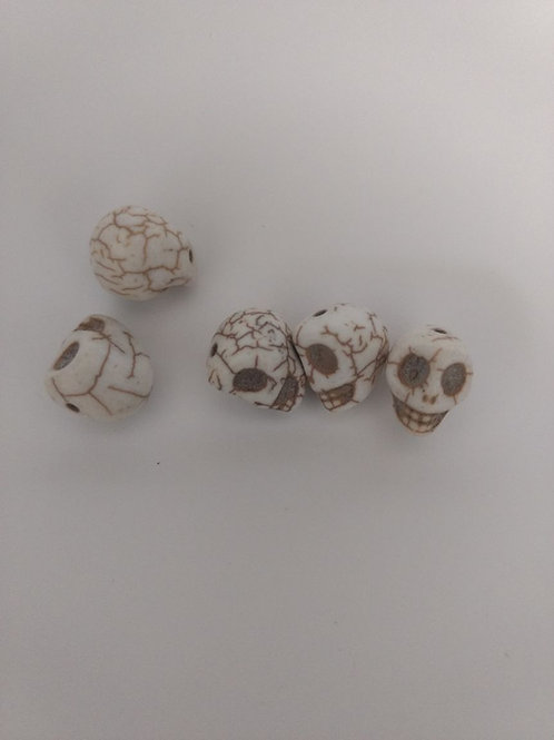 Caveira Porcelana Furada - Mini