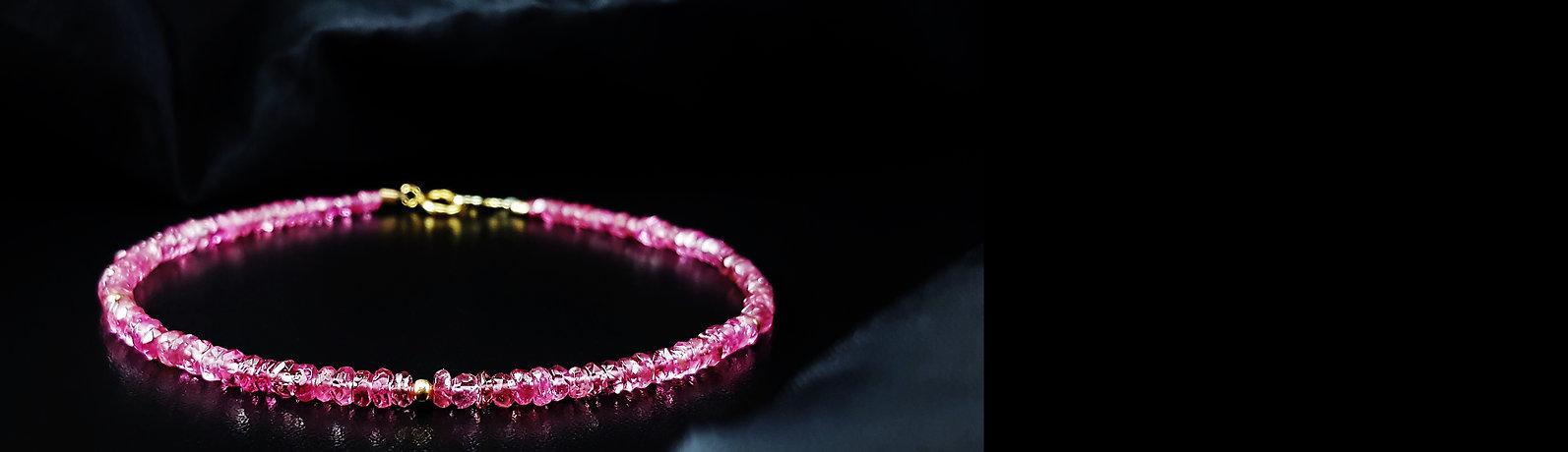 Gemory Bracelets, tourmaline bracelet, pink tourmaline, rubylite tourmaline bracelet, made in germany, dainty bracelet, bracelet for her, precious gems
