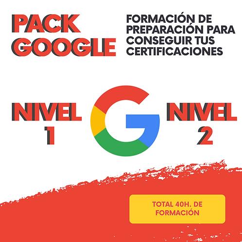 Pack Google Educator 1 y 2