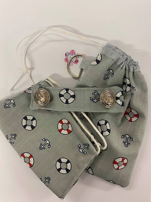 Mask in a Bag with Ear Saver