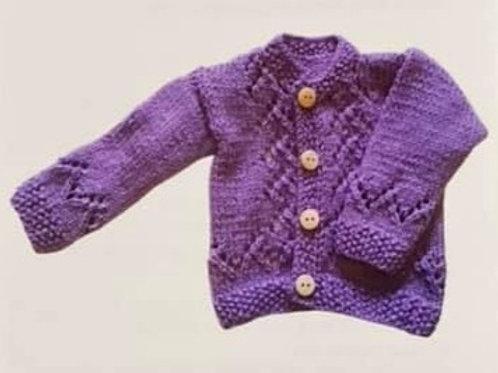 Knitting Pattern 0-12 months