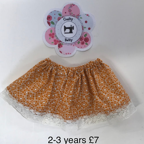Skirt Ages 2-3 Years