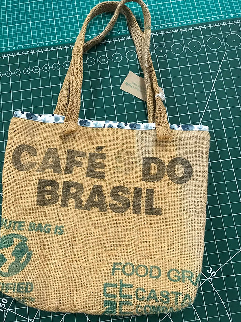 Hessian Sack Shopping Bag